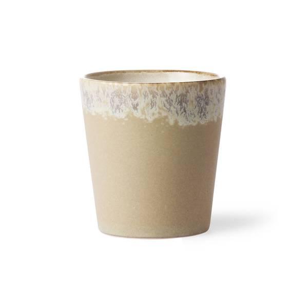 Bilde av HK-living ceramic 70´s mug, bark