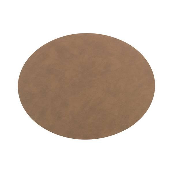 Bilde av Bordbrikke 35x46 oval L nupo brown