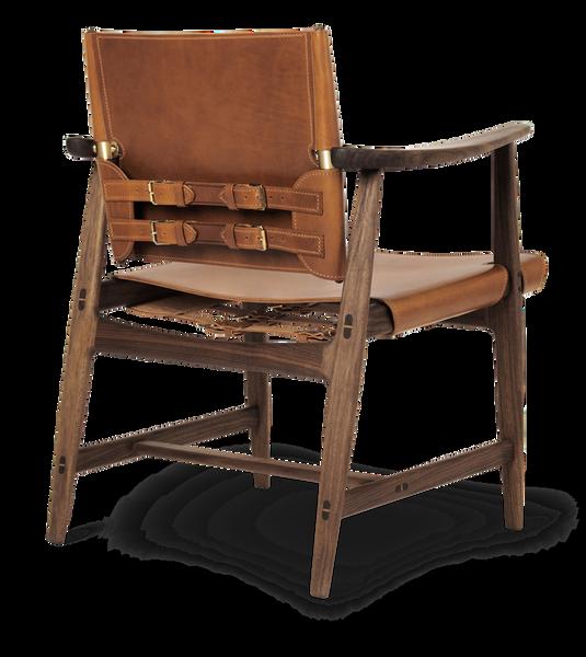 Bilde av BM1106 - Huntsman chair - Valnøtt, konjakk