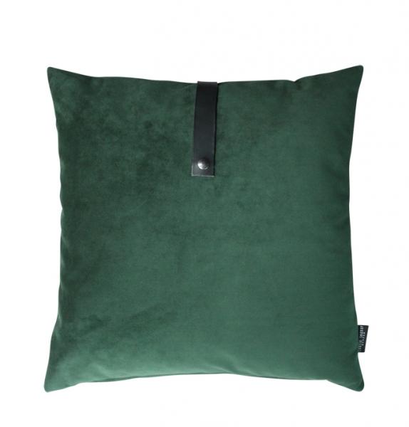 Bilde av Louise Smærup Pute velvet grønn 50x50cm