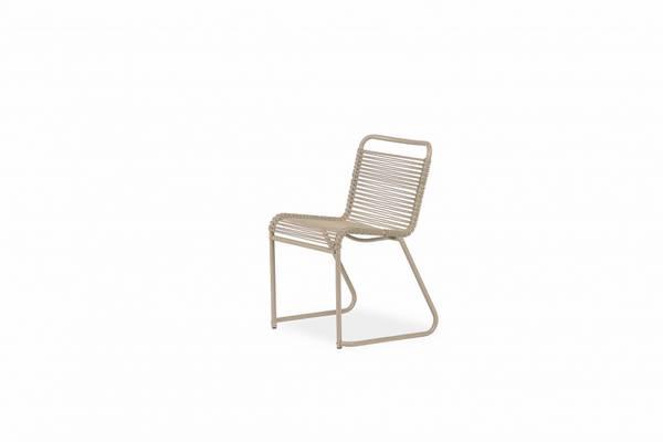 Bilde av Fiam lido dining chair, taupe