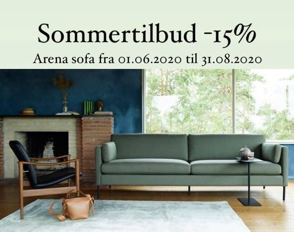 Bilde av LK Hjelle Arena sofa