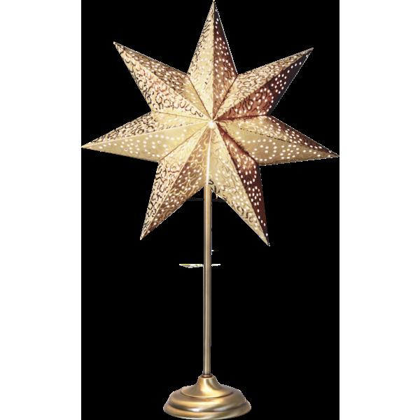 Bilde av Star Antique on base 55cm, gold