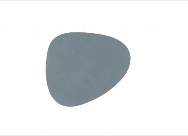 Bilde av glass mat curve 11x13cm nupo light blue
