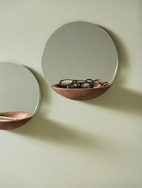 Bilde av Woud pocket mirror large