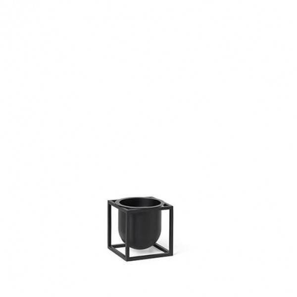 Bilde av By lassen kubus flowerpot 10, sort