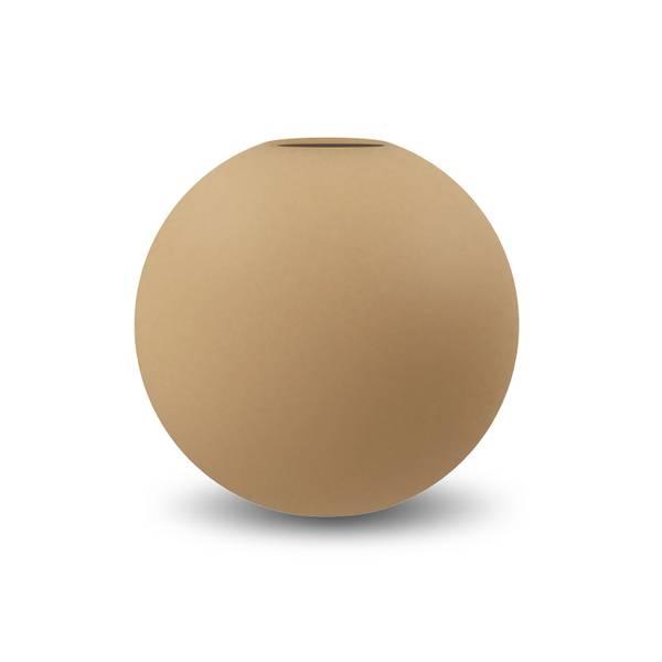 Bilde av Cooee ball vase 20cm, Peanut