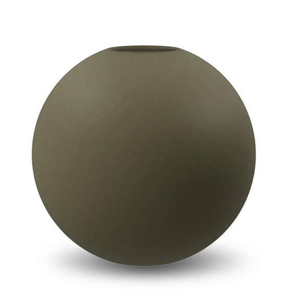 Bilde av Cooee ball vase 20cm, Olive